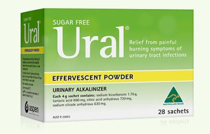 Ural Effervescent Powder – Urinary alkaliniser