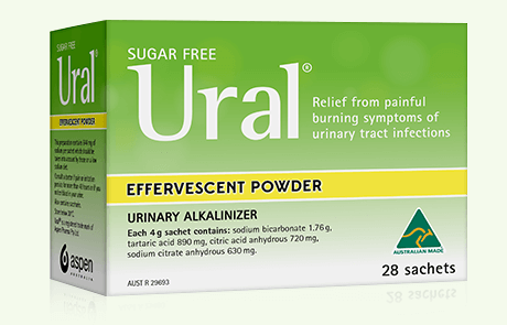ural effervescent powder