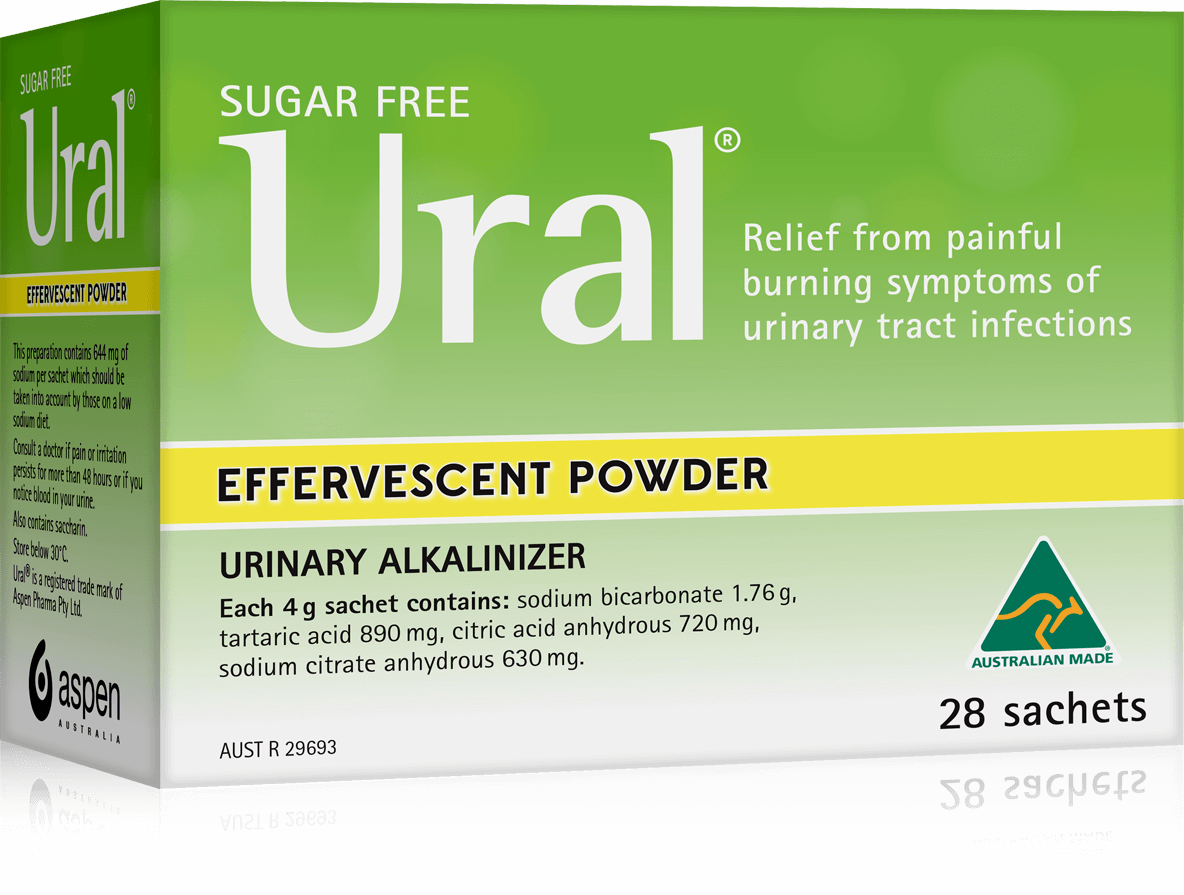 ural effervescent powder packshot