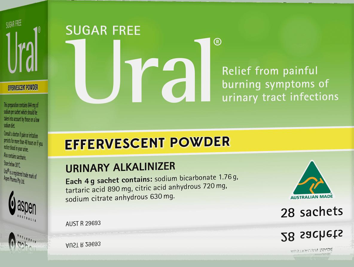 ural effervescent powder packshot